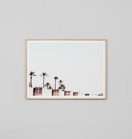 City Wall Framed Artwork