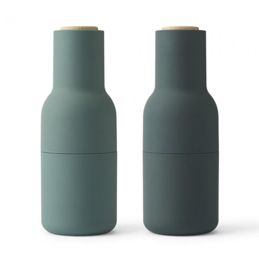 Menu Salt and Pepper Grinders Set Dark Green