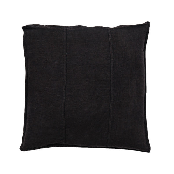 Luca Linen Cushion - Black