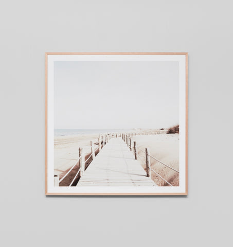 Faded Boardwalk Framed Artwork