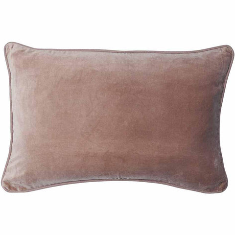 Lynette Velvet Cushion Rectangle - Musk
