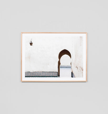Meknes Arch Framed Artwork