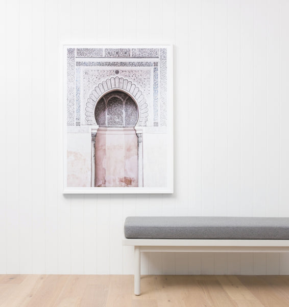 Moroccan Arch Framed Artwork