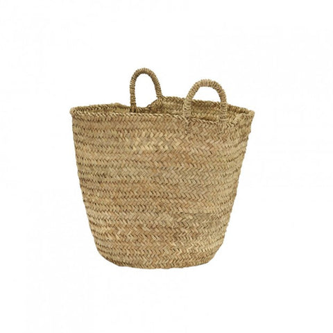 Palm Leaf Basket Bag