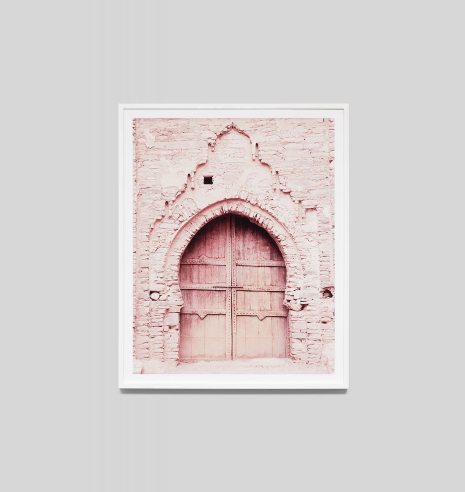 Pink Door 4 Framed Artwork