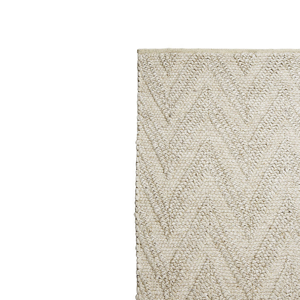 Aura Arrow Rug - Biscuit