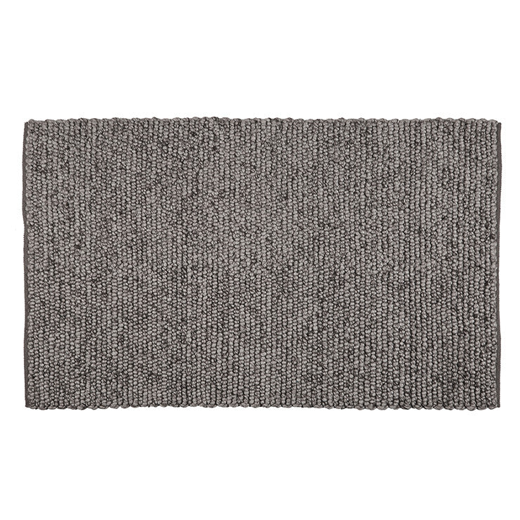 Aura Bobble Rug - Metal