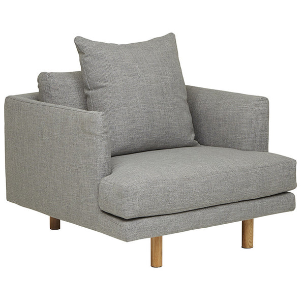 Vittoria Iris Sofa Chair - Pavement