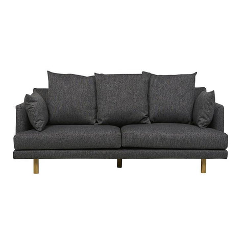 Vittoria Iris 3 Seater Sofa - Quarry Grey