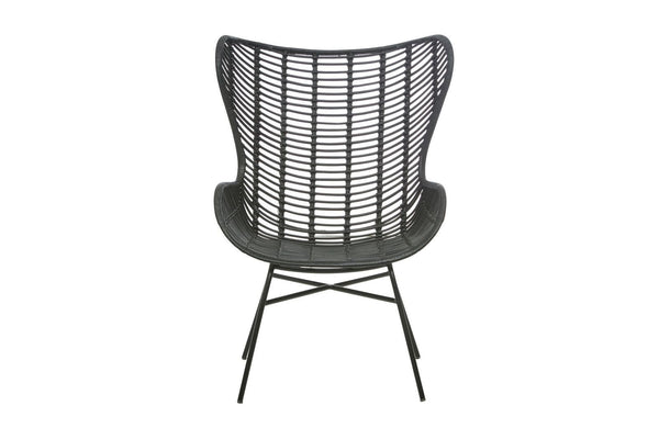 Tango Butterfly Arm Chair - Black
