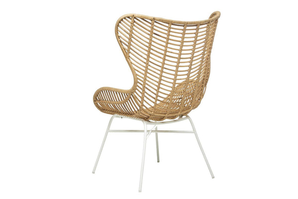 Tango Butterfly Arm Chair - Natural/White