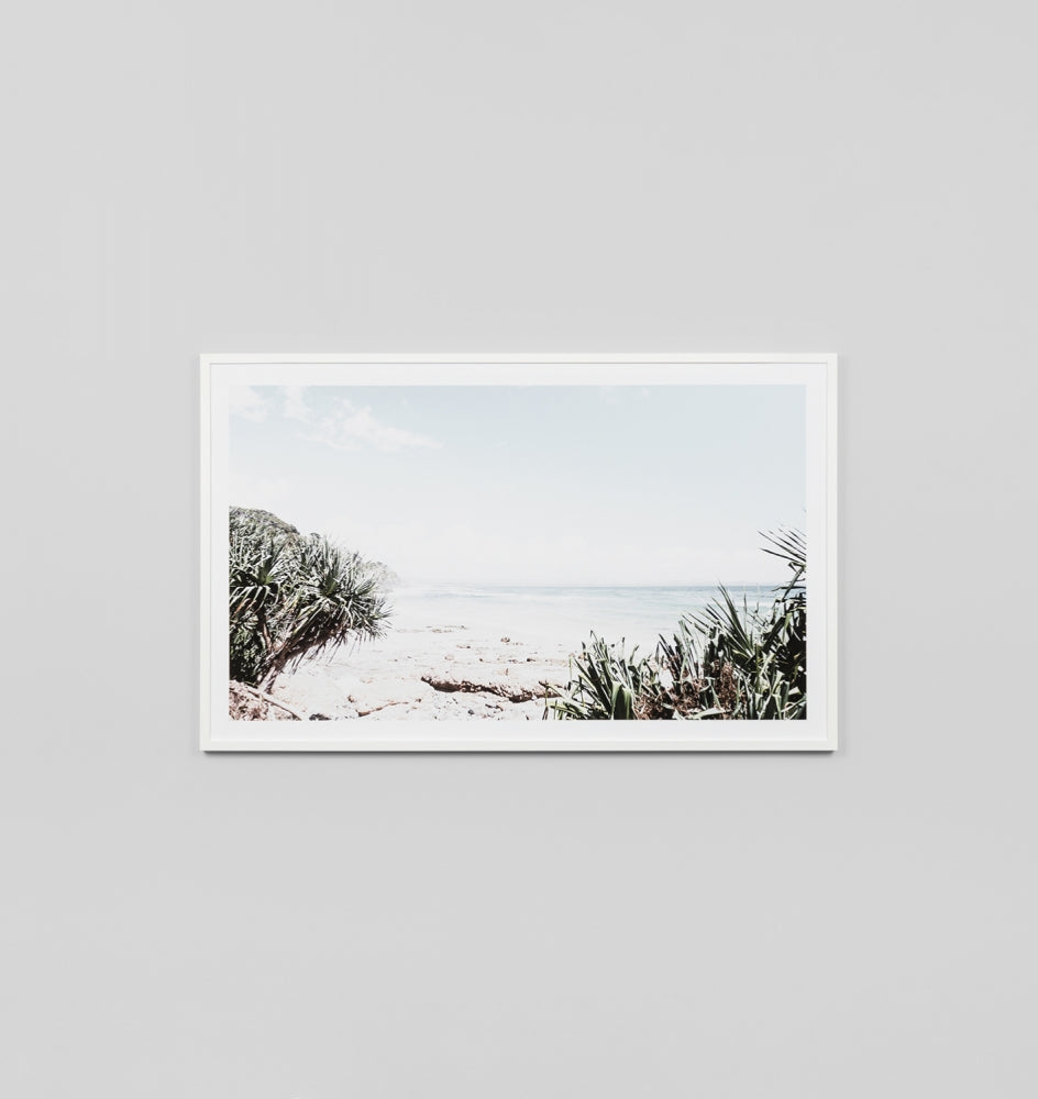 Wategos Beach Framed Artwork