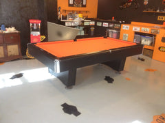 Harley Orange Pool Table