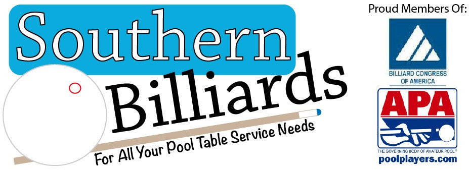 Pool Table Movers Hartwell GA Southern Billiards Inc - Showood pool table