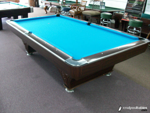 Used 9' Hollywood Pool Table with Silent Ball Return