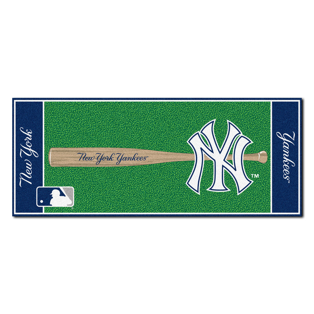 New York Yankees Baseball Runner