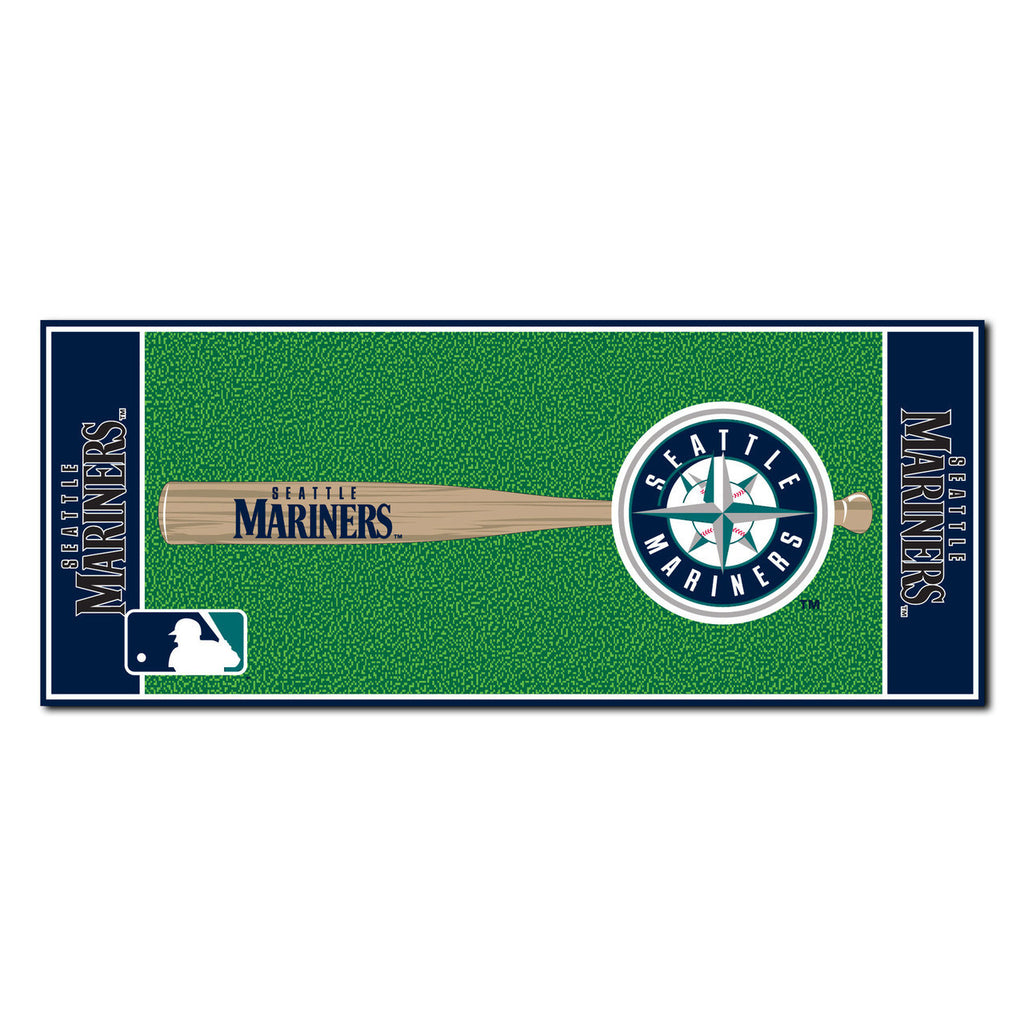 Seattle Mariners Baseball Runner