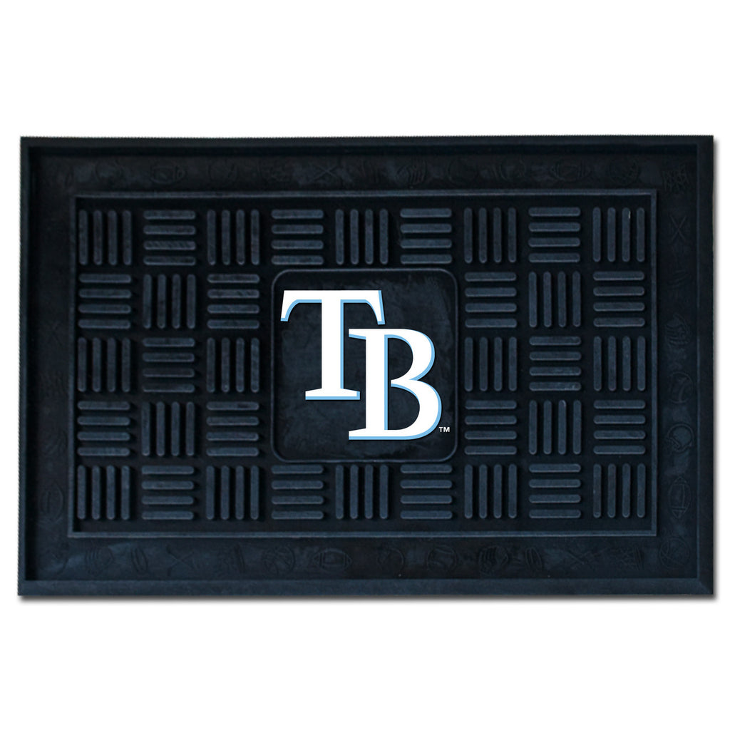 Tampa Bay Rays Medallion Door Mat