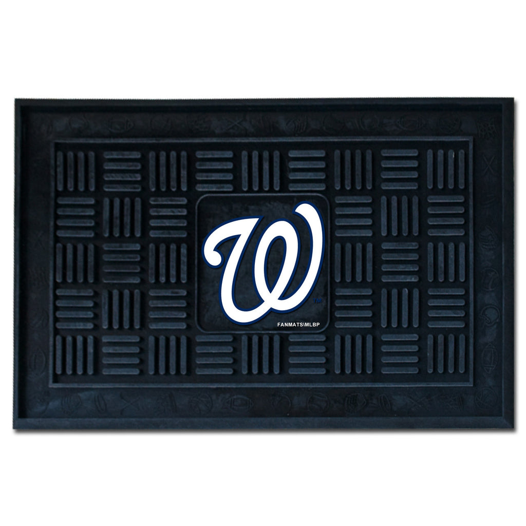 Washington Nationals Medallion Door Mat