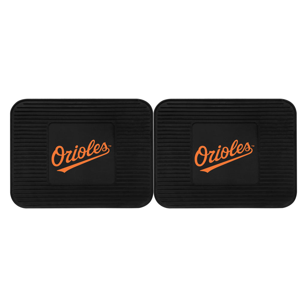 Baltimore Orioles Utility Mat 2 Pack Set