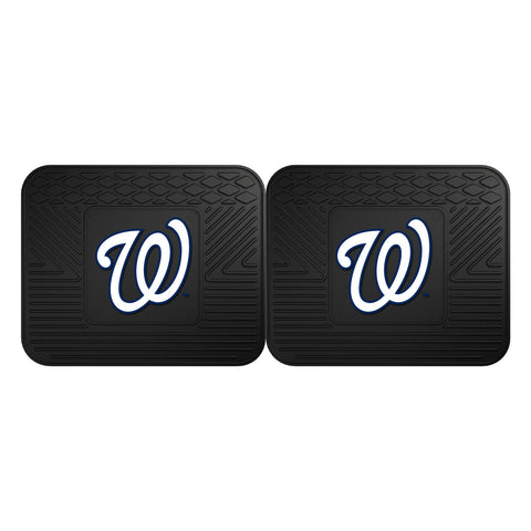 Washington Nationals Utility Mat 2 Pack Set