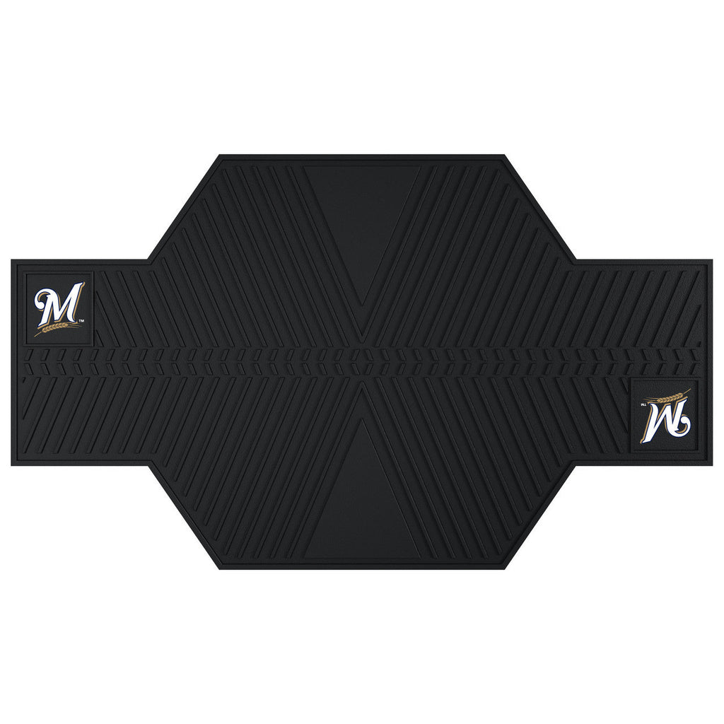 Milwaukee Brewers Motorcycle Mat