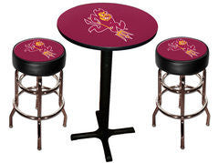 Arizona State Sun Devils Varsity Pub Table & Bar Stool Set