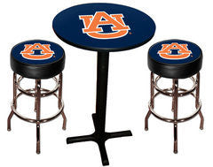 Auburn Tigers Varsity Pub Table & Bar Stool Set