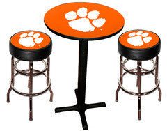 Clemson Tigers Varsity Pub Table & Bar Stool Set