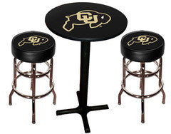Colorado Buffaloes Varsity Pub Table & Bar Stool Set