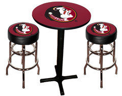 Florida State Seminoles Varsity Pub Table & Bar Stool Set