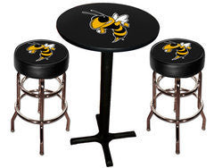 Georgia Tech Yellow Jackets Varsity Pub Table & Bar Stool Set