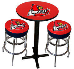 Louisville Cardinals Varsity Pub Table & Bar Stool Set