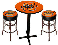 Oklahoma State Cowboys Varsity Pub Table & Bar Stool Set