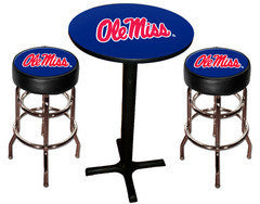 Ole Miss Rebels Varsity Pub Table & Bar Stool Set