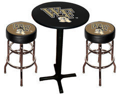 Wake Forest Demon Deacons Varsity Pub Table & Bar Stool Set