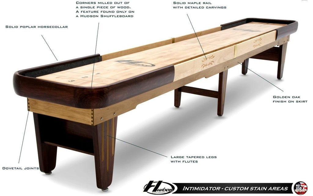 Hudson Intimidator Shuffleboard Table