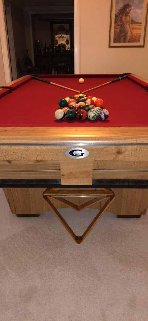 Used 9' Gandy Pool Table