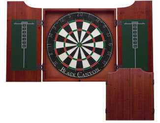 Chocolate Dart Board Cabinet