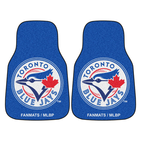 Toronto Blue Jays 2-pc Carpet Car Mat Set