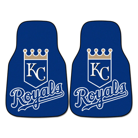 Kansas City Royals 2-pc Carpet Car Mat Set