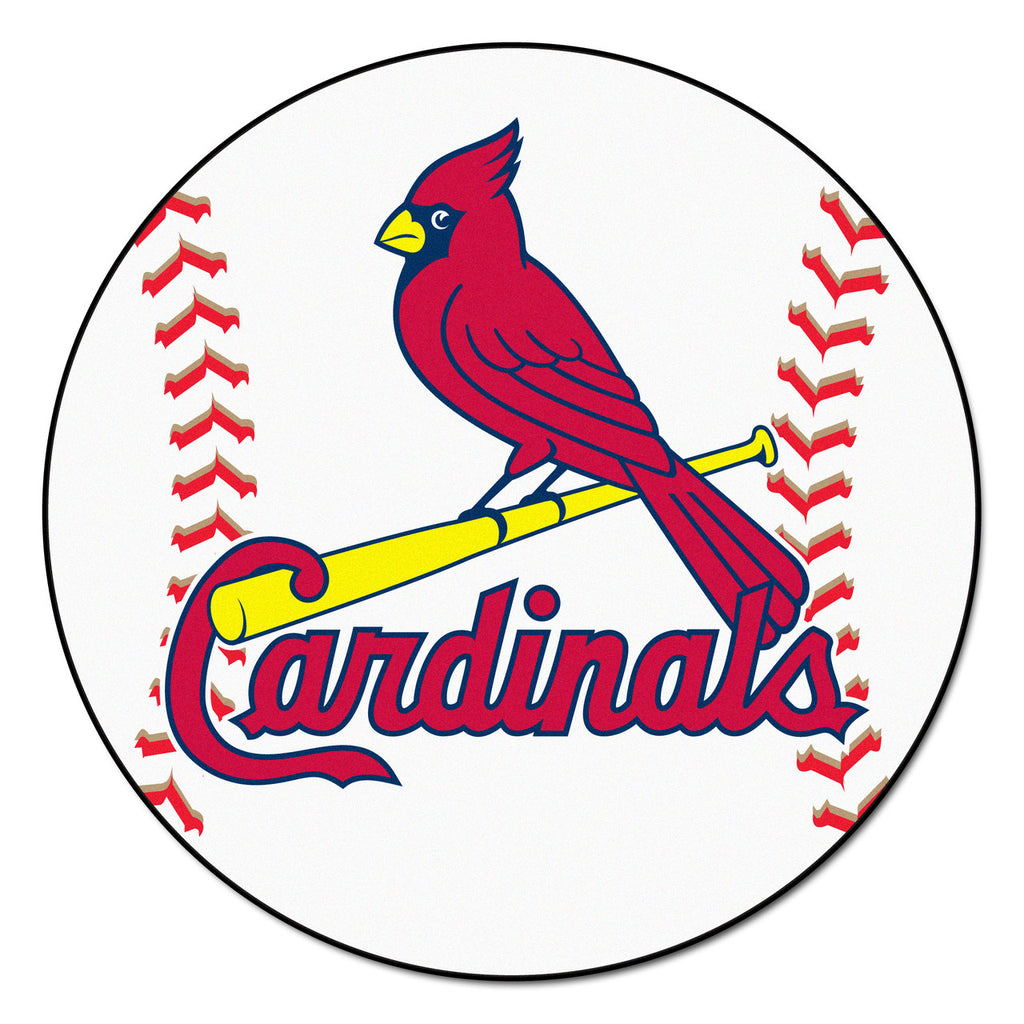 St. Louis Cardinals Baseball Mat