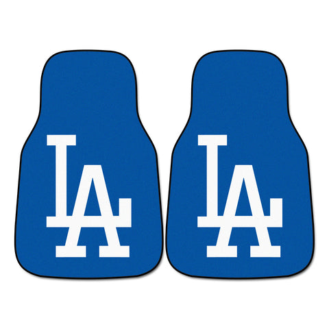Los Angeles Dodgers 2-pc Carpet Car Mat Set