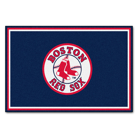 Boston Red Sox 5x8 Rug