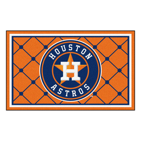 Houston Astros 4x6 Rug