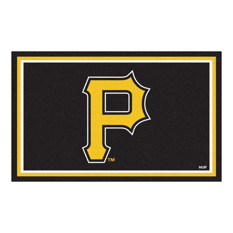 Pittsburgh Pirates 4x6 Rug