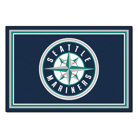 Seattle Mariners 5x8 Rug