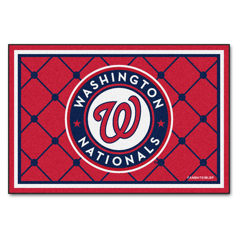 Washington Nationals 5x8 Rug