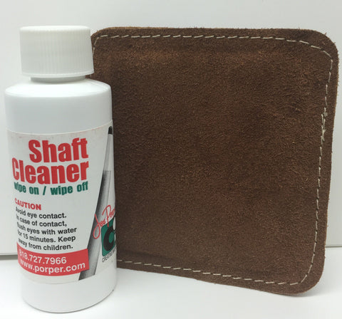 Porper Shaft Cleaner/Polish with Polisher Pad