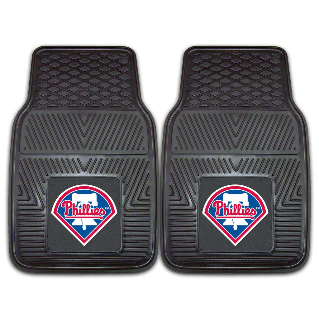 Philadelphia Phillies 2-pc Vinyl Car Mat Set